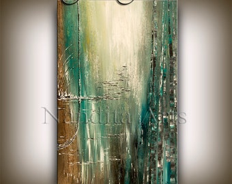 PAINTING Original Acrylic Abstract LARGE Modern Art LANDSCAPE painting wall art abstract art sale fine art Made-to-Order fine art Nandita