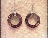 Hot Coco - Jimbawaï - Round Brown Coconut Earrings