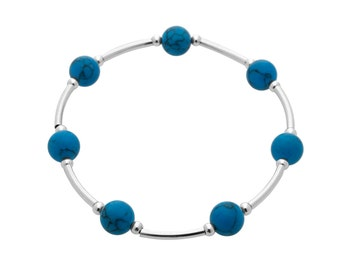 Count Your Blessings Bracelet, Turquoise