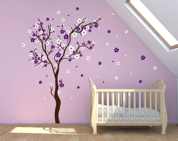 apple tree wall decal