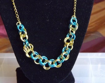 Spring Sky Chain Necklace