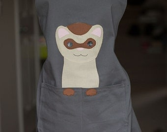 Ferret Love Apron