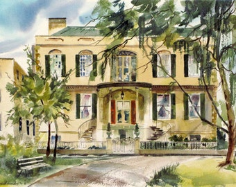 Owens Thomas House - Giclée