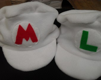 Mario & Luigi Fire. Hats are great for any type of event.