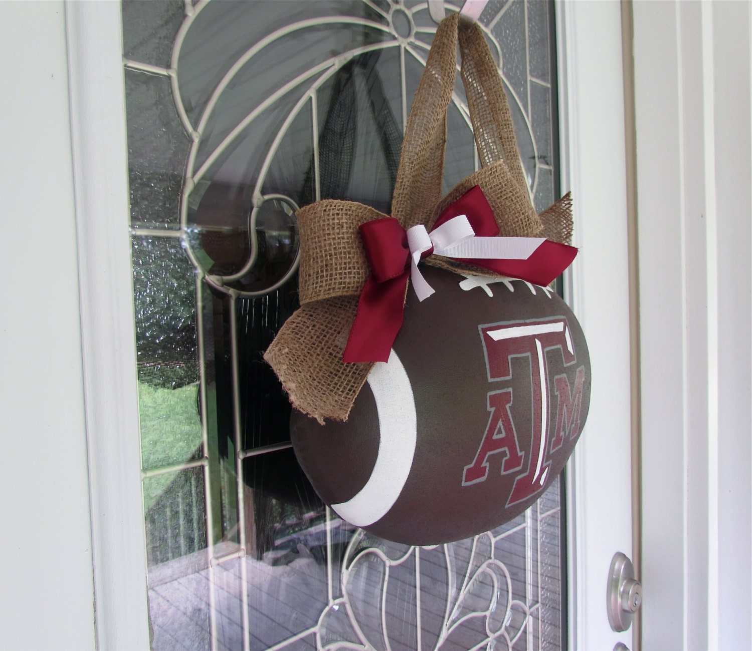 Texas A Amp M Football Door Hanger