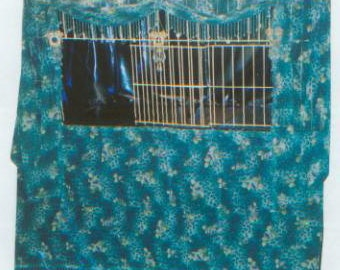 Cat Cage Curtains Sale Blue Leopard Cage Curtain