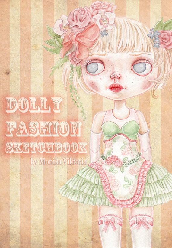 Dolly Fashion Sketchbook