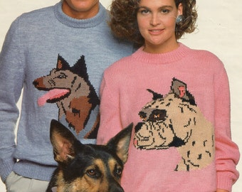 Knitting Pattern Boxer Dog Sweater : Boxer sweater Etsy