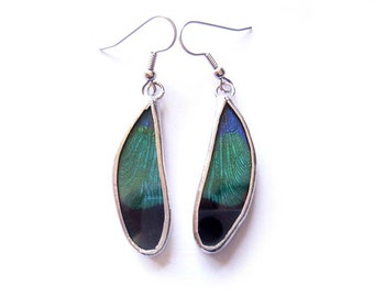 Dragonfly Wing Earrings Rare Limited Edition - Boho Earrings - Dragonfly Earrings