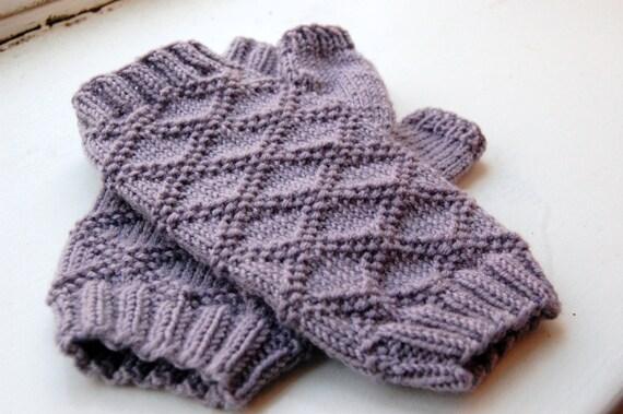Fingerless Gloves Knitting Pattern Double Pointed Needles : Karissa Fingerless Gloves Knitting Pattern from ...