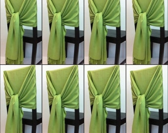 8 pashmina , pashmina scarf, pashmina shawls, wedding shawls, pashmina wrap, bridesmaid shawls, wedding favors, chair covers