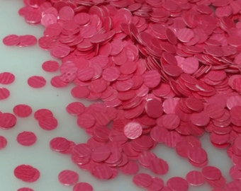 solvent-resistant glitter shapes-bright pink dots