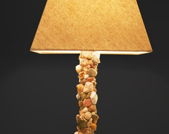 Pebble Rock Lamp