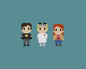 Dr. Horrible's Sing Along Blog Cross Stitch Pattern