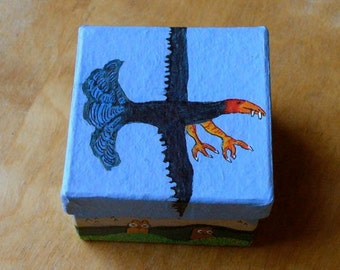 A Tooth Fairy box for boys and adventurous girls a gift box Feathered Friend