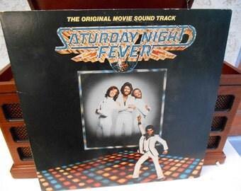 Saturday Night Fever original movie soundtrack - vinyl