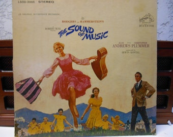 The Sound Of Music- Original Soundtrack- Vinyl record