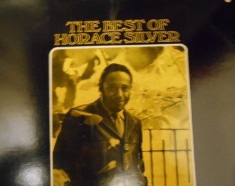 Horace Silver- The Best Of- vinyl record