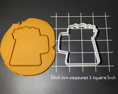 Beer Mug Cookie Cutter Made to order E0127