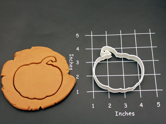 Pumpkin Cookie Cutter Made to order E0112