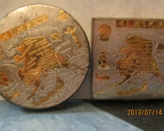1950,s vintage compact's from Alaska