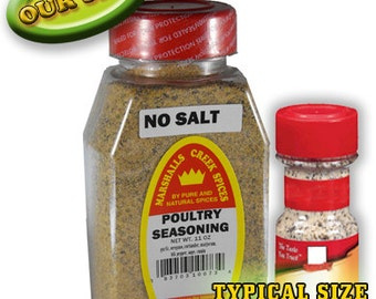 POULTRY seasoning No Salt 11 oz