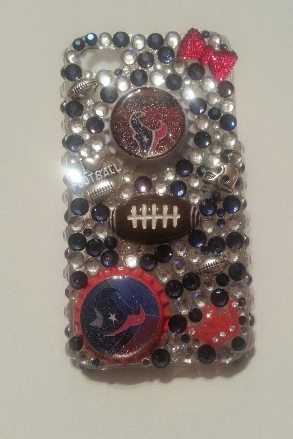 Items similar to Bling Houston Texans phone case available in ...