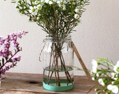 Napa Valley Green Hand-Dipped Jar (for Flower Arrangements)