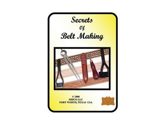 56753- Secrets of Belt Making with George Hurst Leather craft Instructional DVD