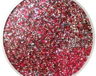 "Textured .008"" Hex Glitter DELIGHTFUL Solvent Resistant Glitter 1lb."