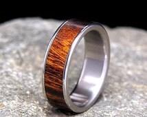 Unique Mens Titanium Ring Related Items Etsy