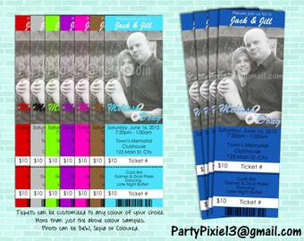 Jack and jill etsy for Jack and jill ticket templates