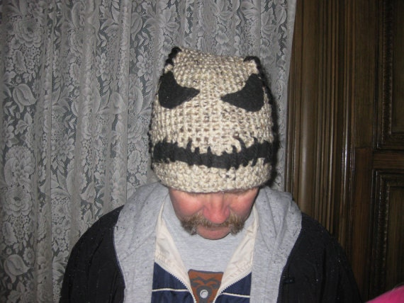 Oogie Boogie Man beanie Nightmare Before Christmas beanie