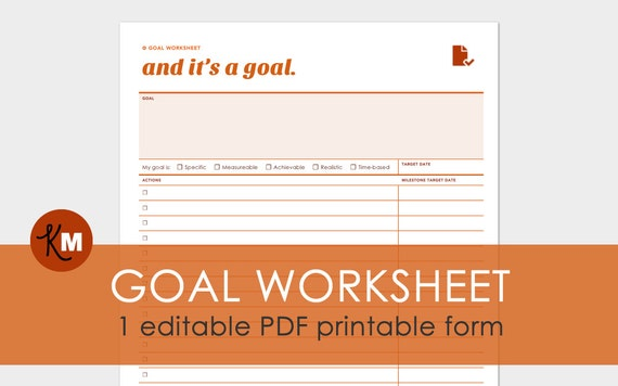 Worksheets Goal Setting Worksheet Pdf goal planning worksheet 1 editable setting pdf file printer friendly and expertly designed