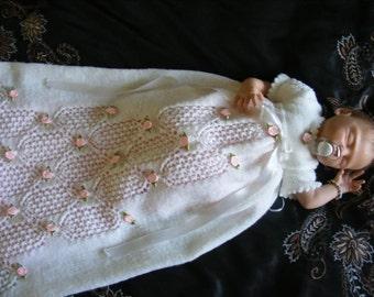 Abigail Christening Set Knitting Pattern