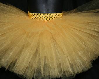 Yellow Tutu Skirts, Children's Tutu Skirts, Yellow Newborn to 6T Tutus, YellowTutu, Tutu