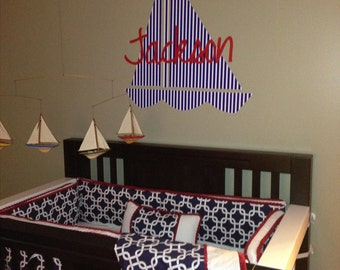 Children's wall decal
