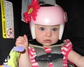 Items Similar To Flower Decorations For Baby Plagiocephaly Helmets - Baby helmet decals