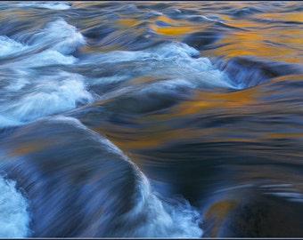 Autumn Foliage Reflection - Color Photo Print - Fine Art Nature Photography (NP01)