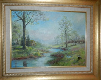 Original Oil Painting by L. Gubrud