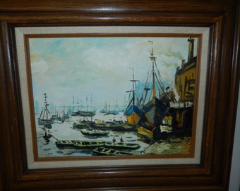 Original Oil Painting by T. Baumac