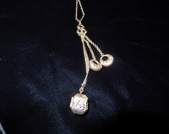 VICTORIAN WATCH FOB Necklace