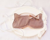 Boudoir Cat sleep masks,set of 5, eyes relaxation filled with organic lavender,  party favors, bridesmaid favors, bridal shower favors. - Venicaria