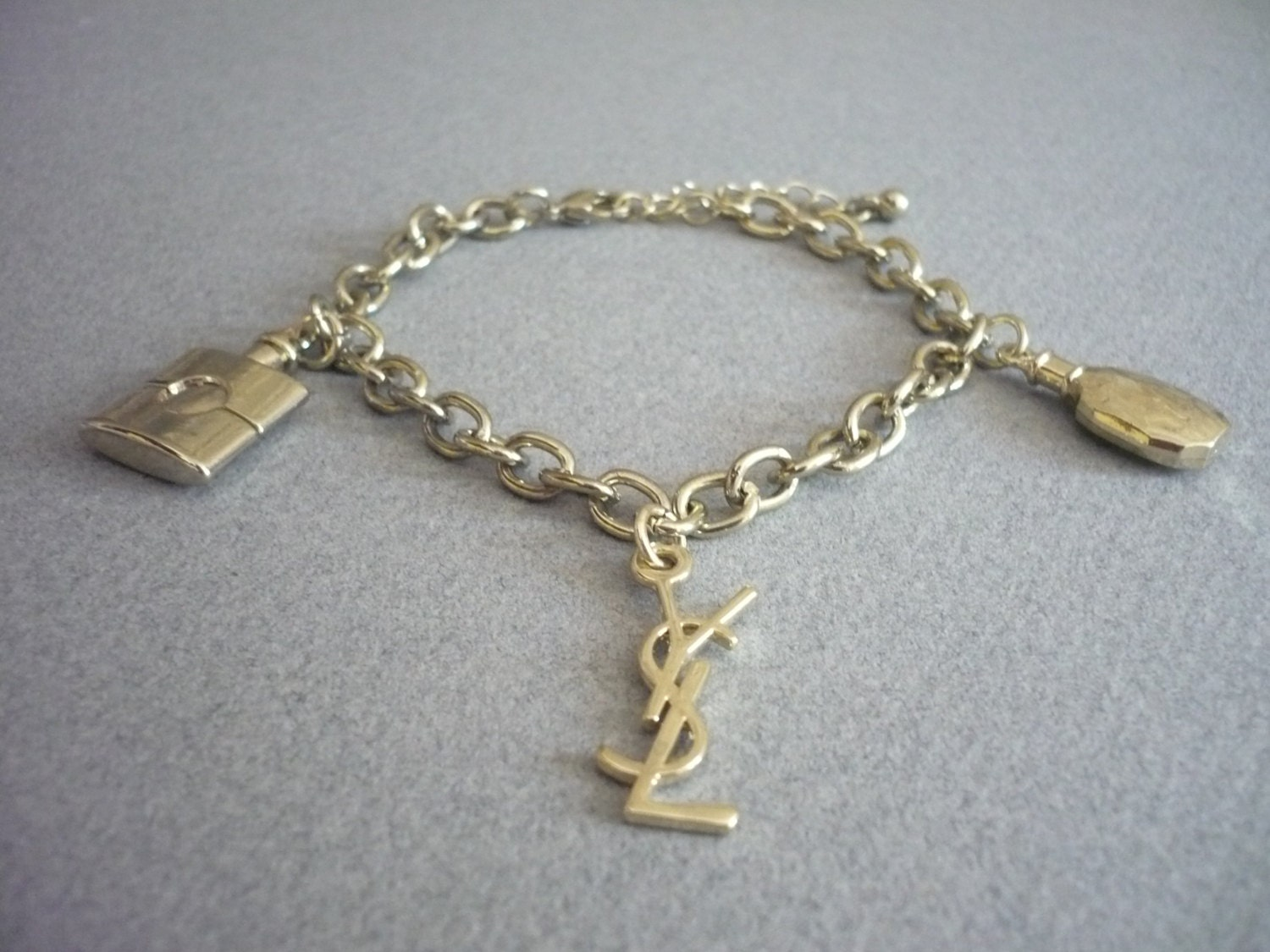Yves saint laurent ysl bracelet by xdivinex on etsy - Bracelet yves saint laurent ...