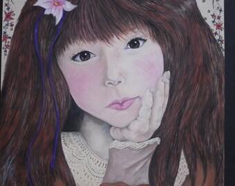 Original Painting in watercolour - 'Innocence'