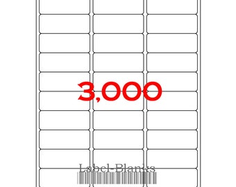 Laser ink jet labels 100 sheets 1 x 2 5 8 avery for Avery template 5160 pdf