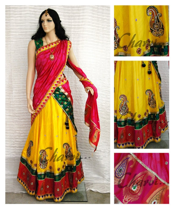 Indian Blouse And Skirt 47