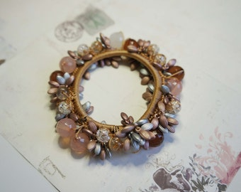 bead stetch bracelet/ charm bracelet