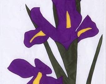 Iris - Garden Flag
