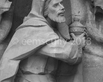 Sagrada Familia - Gaudi - Nativity Facade, Three Kings - Barcelona Spain 8x10